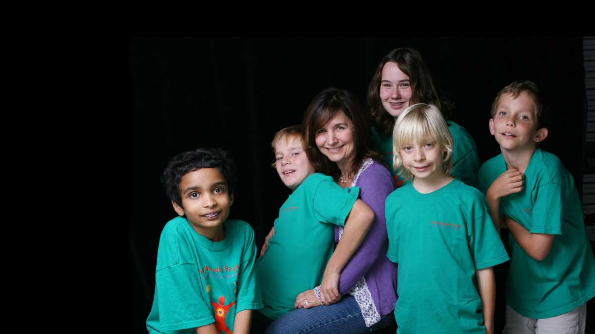Elaine Hall and the kids of autism the musical