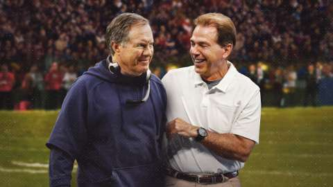 belichick and saban the art of coaching
