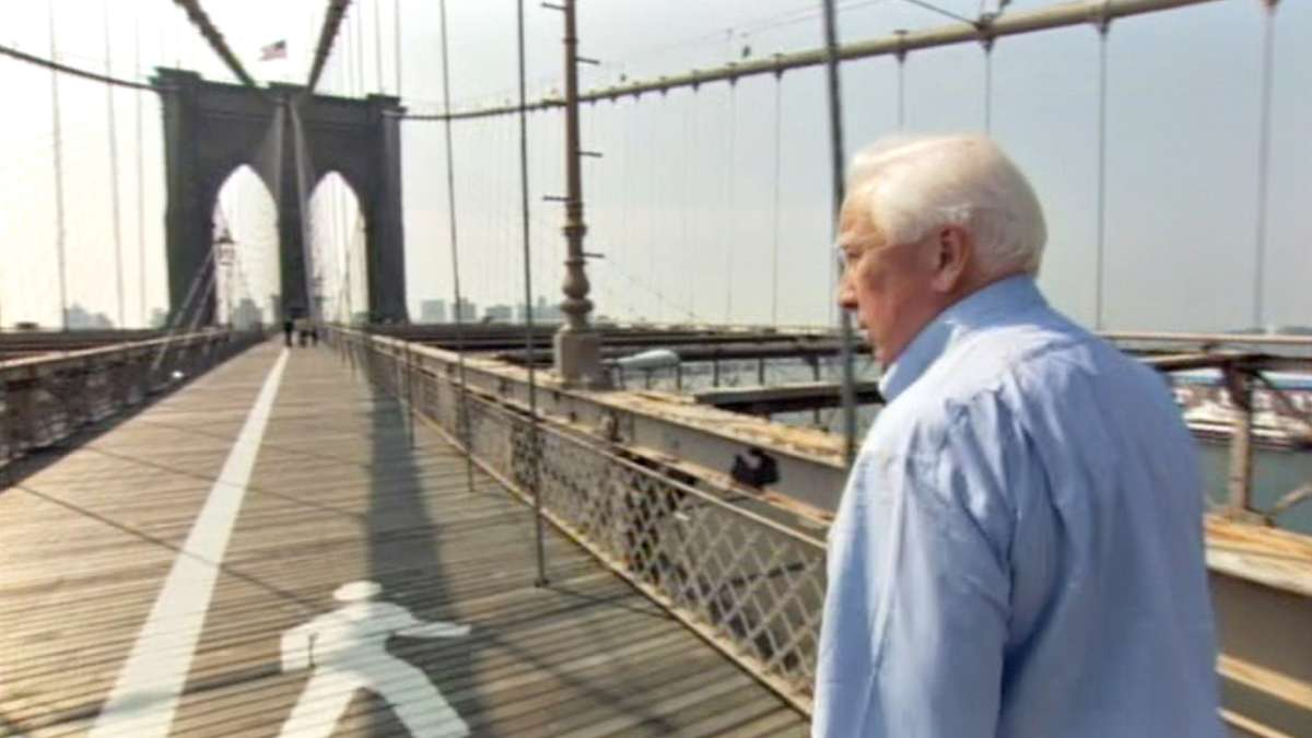 David McCullough on Brooklyn Bridge