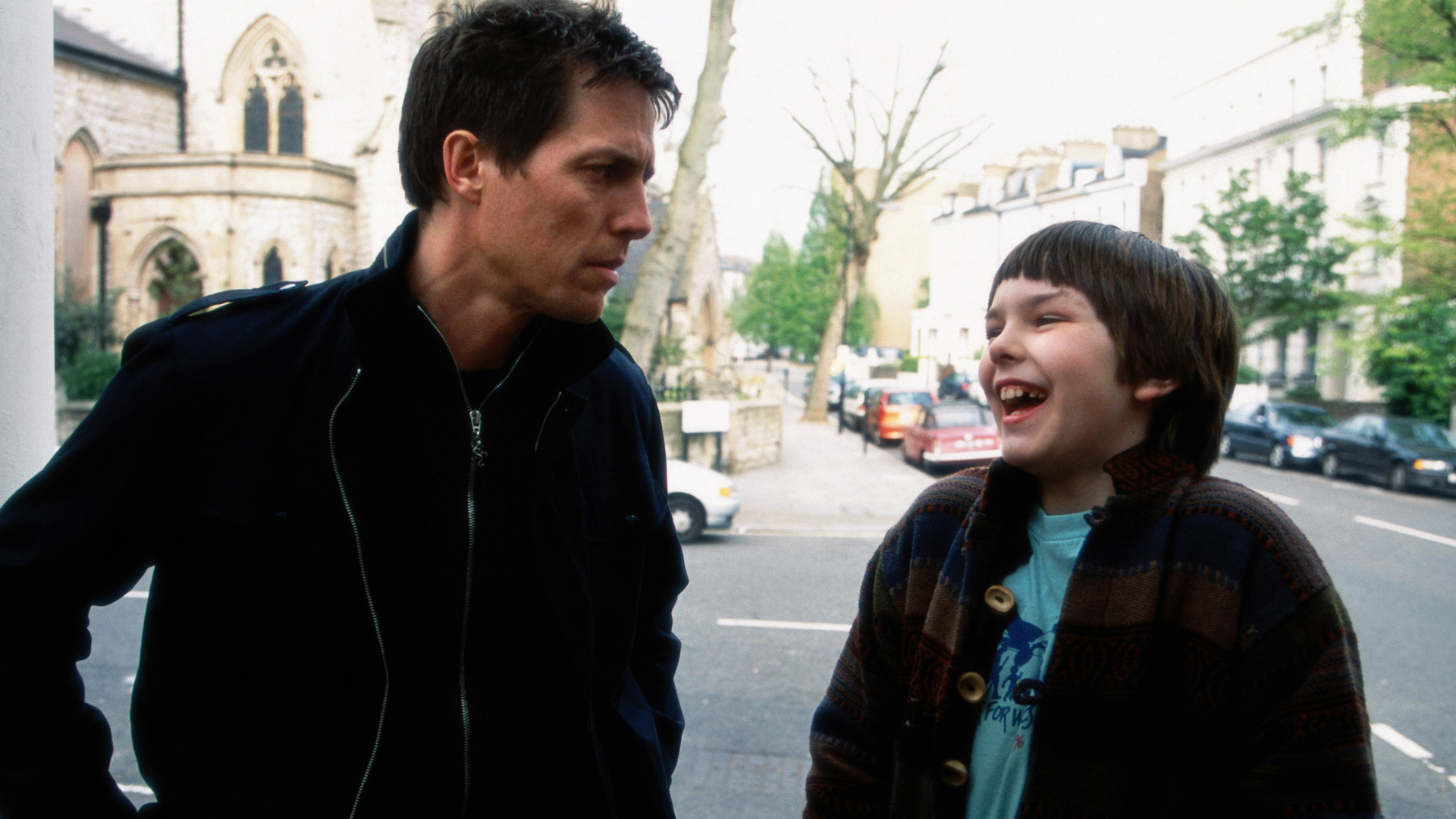 About A Boy Hugh Grant And Nicholas Hoult Staff Pick Hbo