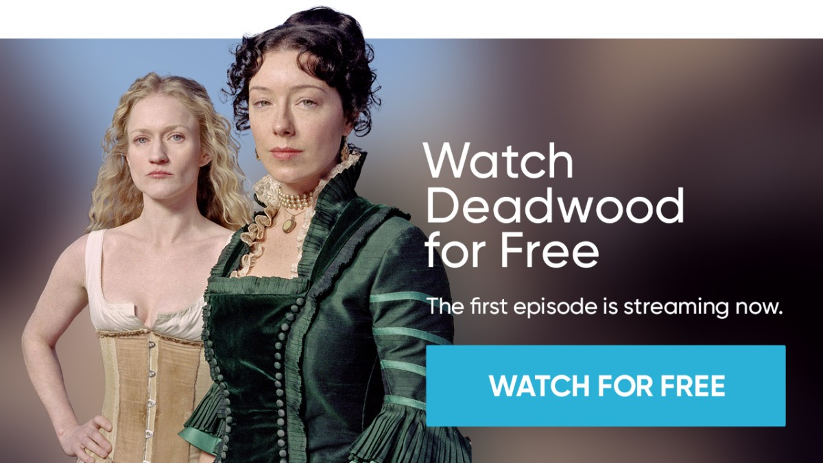 Deadwood Official Website For The Hbo Series