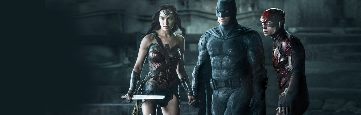 Justice League: Watch the Action Movie Online Starring Gal