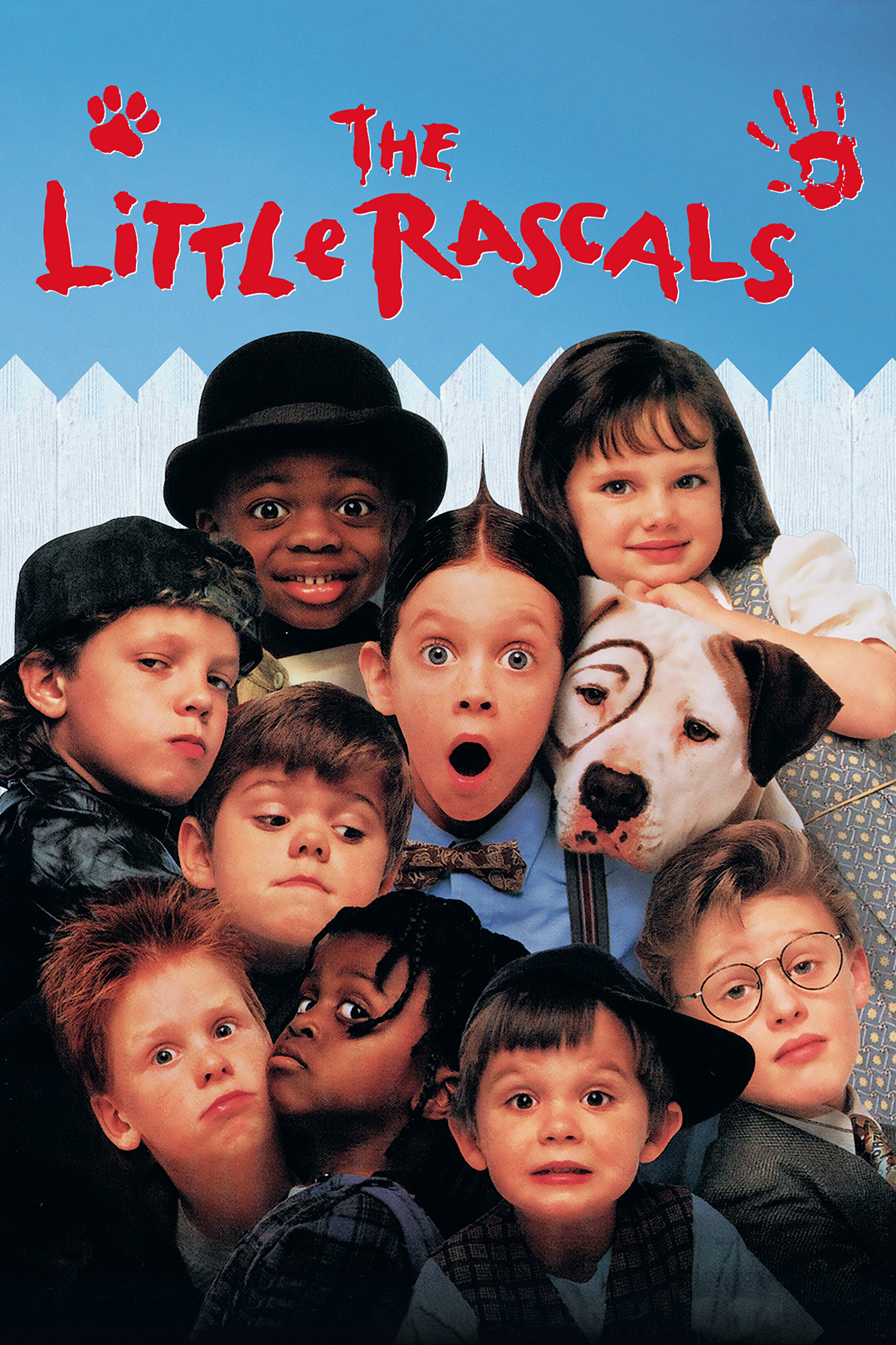 Little Rascals Key Art Movie Poster HBO