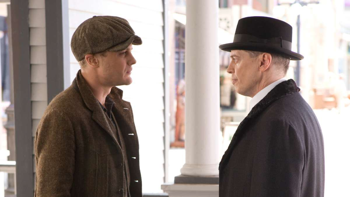 Jimmy talks to Nucky about double cross