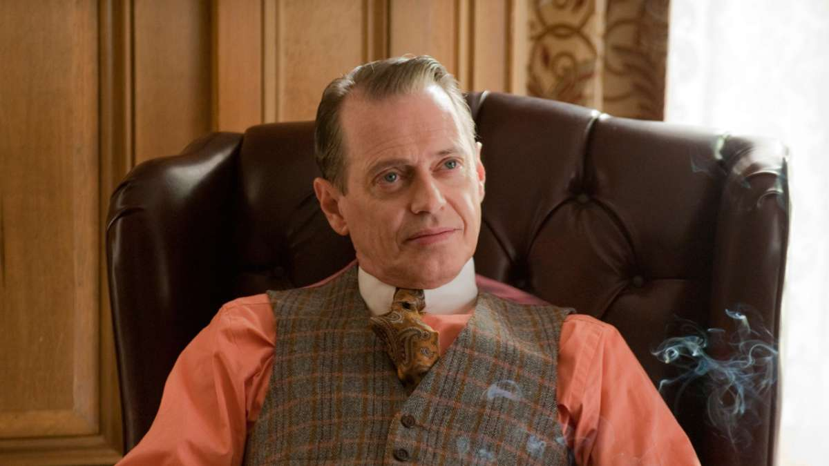 Nucky at his desk
