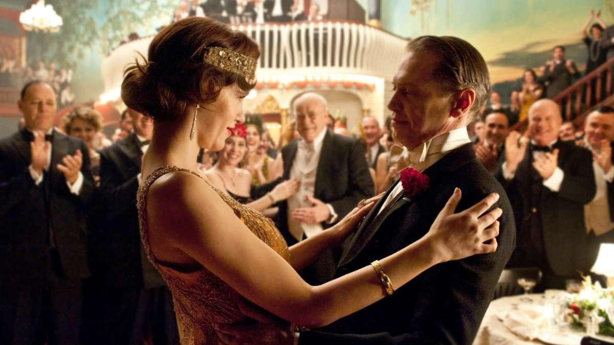 Lucy and Nucky dancing