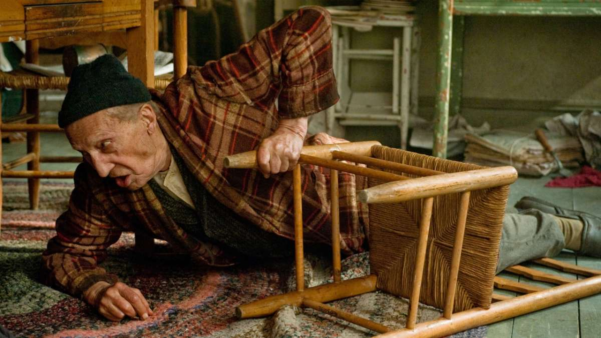 Nuckys father on floor