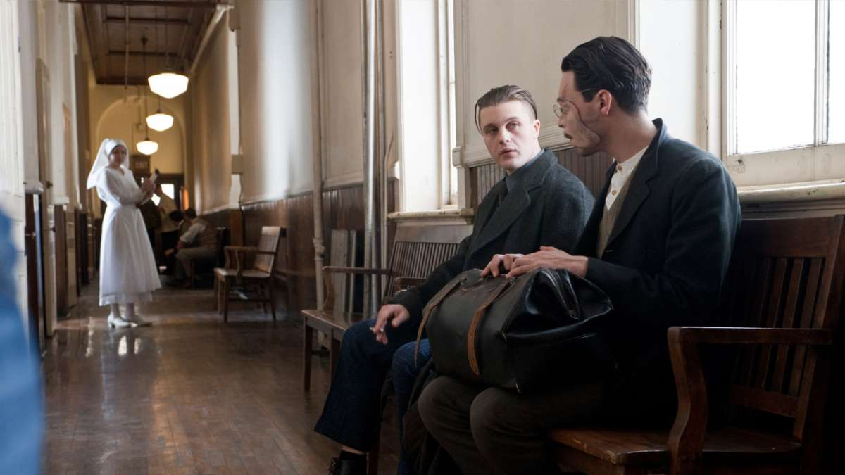 Jimmy and Harrow in hospital