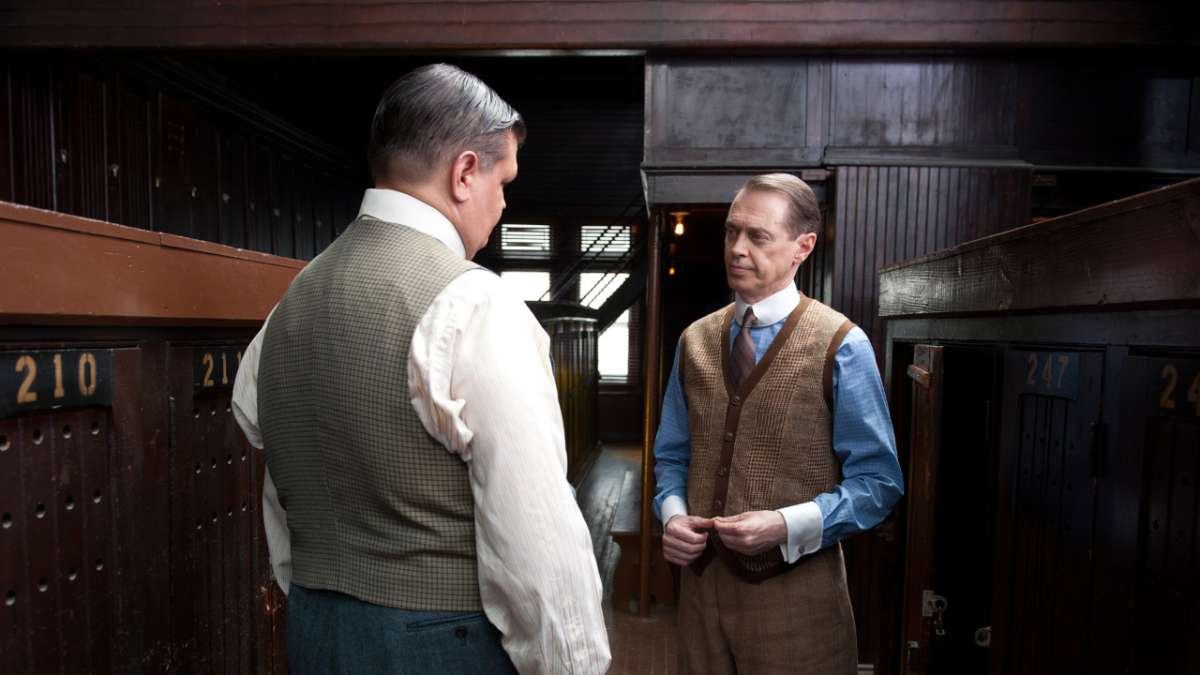 Harry Daugherty and Nucky Thompson