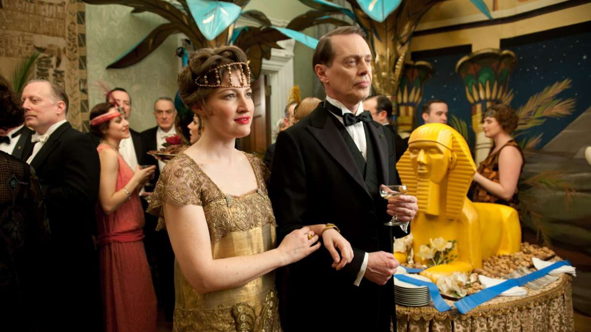 Margaret and Nucky at king tut party