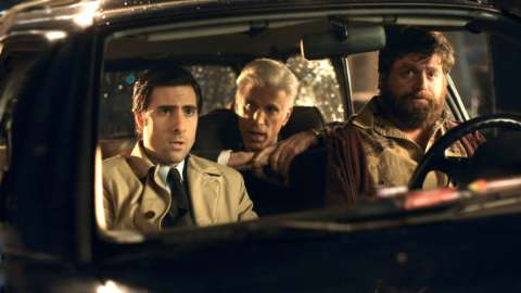 Jonathan Ames George Christopher Ray Hueston in car