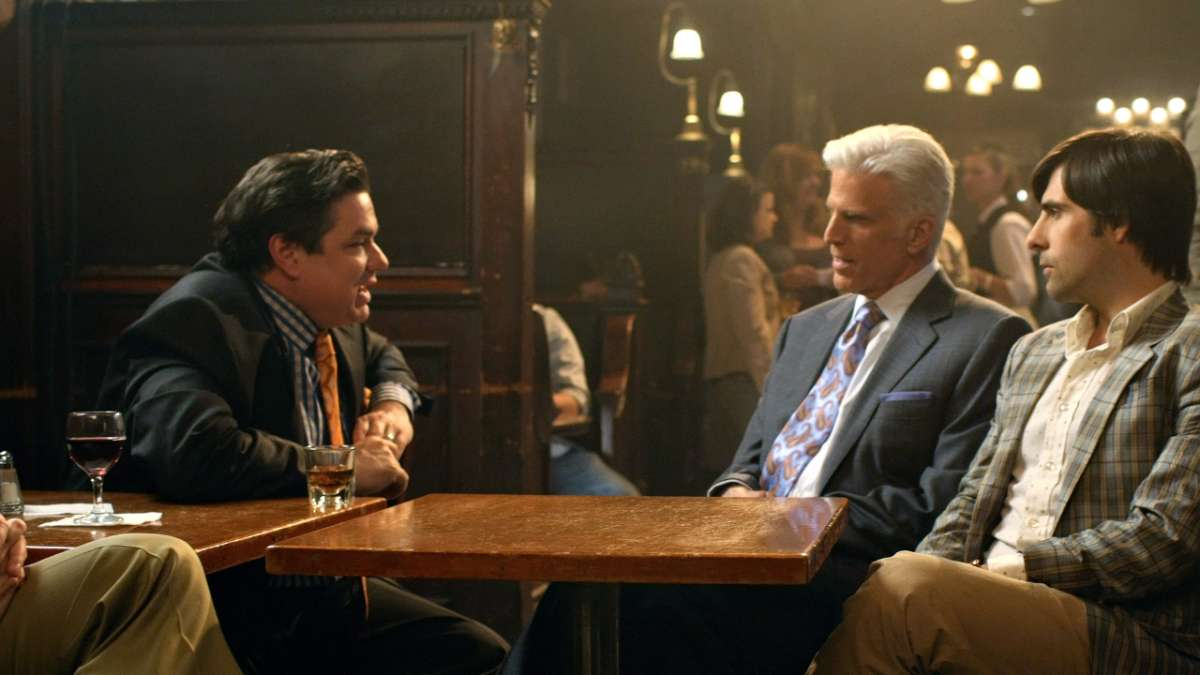Oliver Platt's character George Christopher Jonathan Ames at bar
