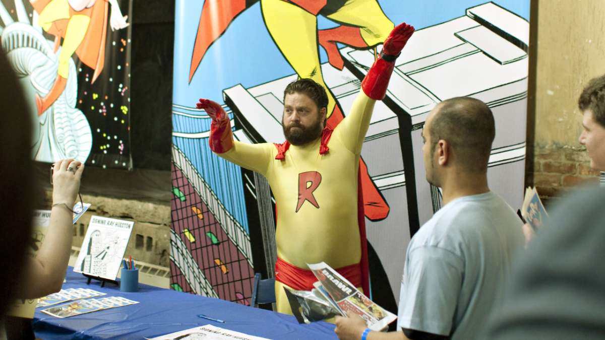 Super Ray comic convention