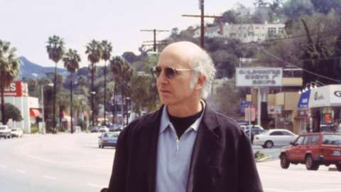 Larry David commercial street