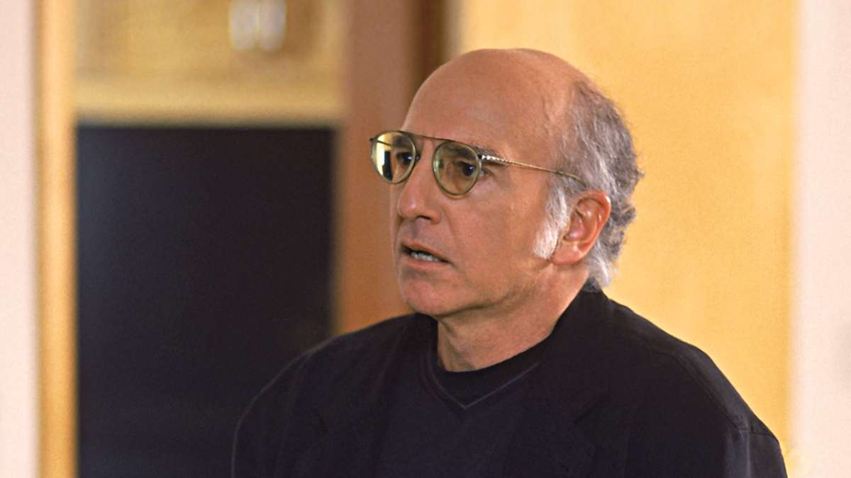 Larry David worried expression