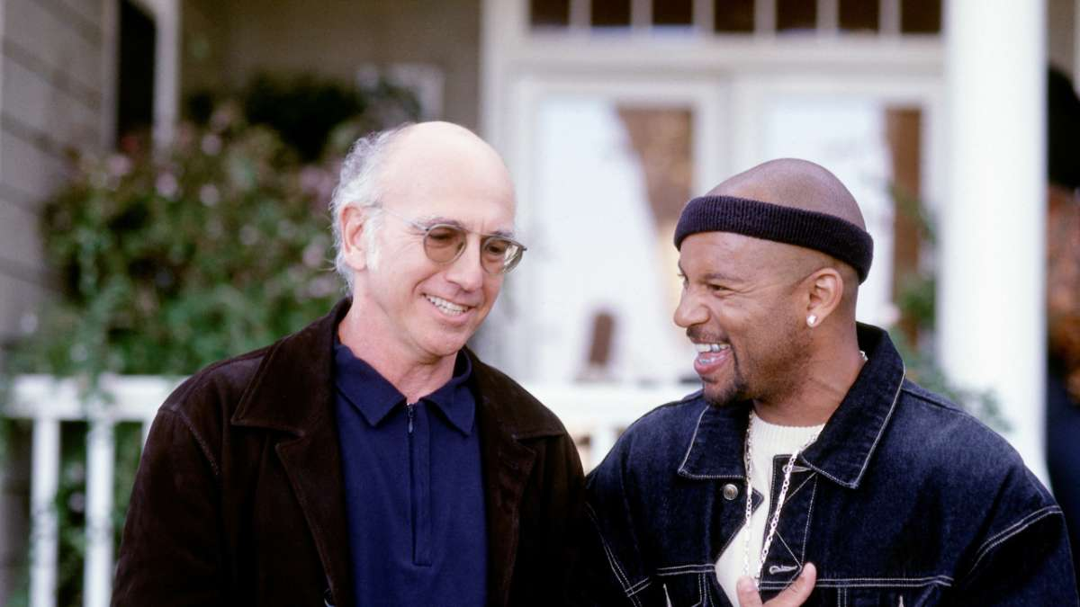 Larry David and Krazee-Eyez Killa
