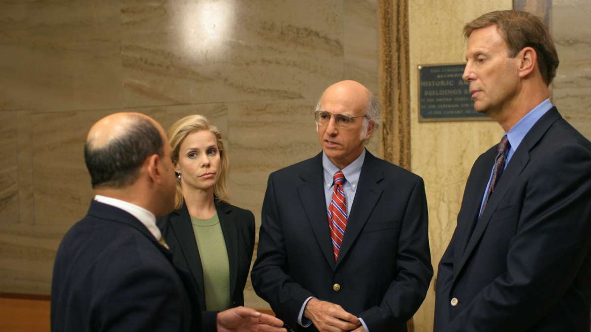 """Cheryl, Larry David and Marty Funkhouser speak to lawyer"""