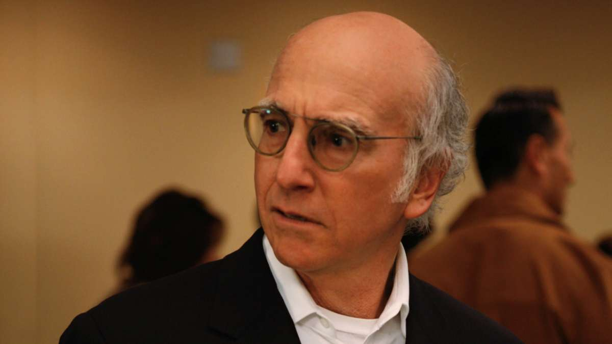 Larry David looking right