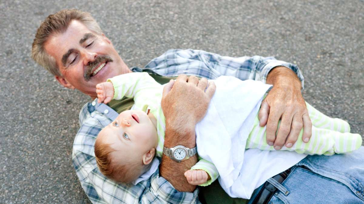 Bill Buckner catches baby