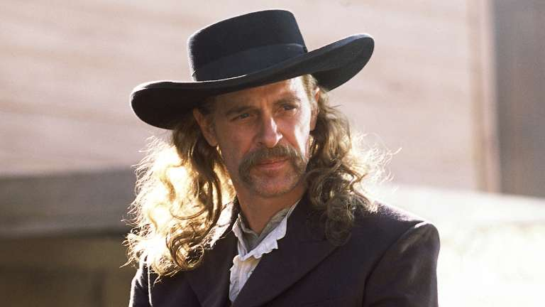 wild bill hickok played by keith carradine on deadwood hbo. Black Bedroom Furniture Sets. Home Design Ideas