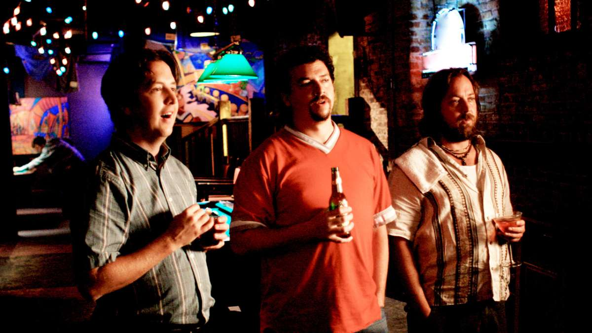 Stevie Janoski Kenny Powers and Clegg in bar