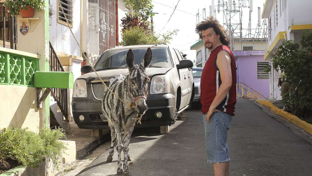 Kenny Powers Zonkey street