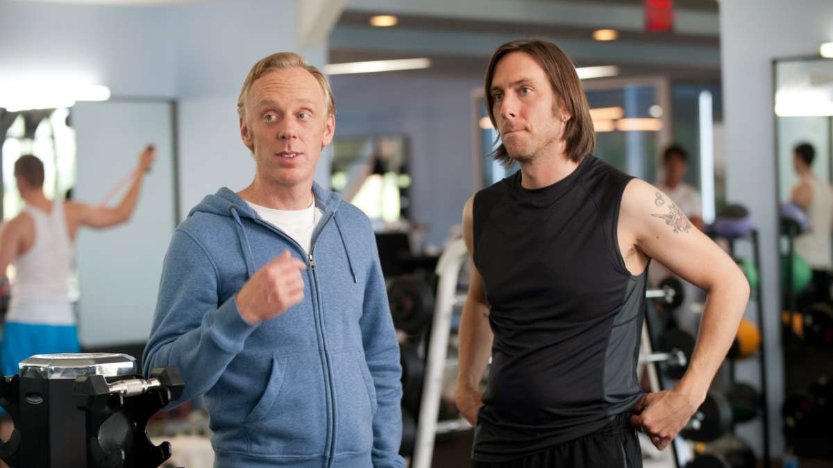 Dougie and Tyler gym