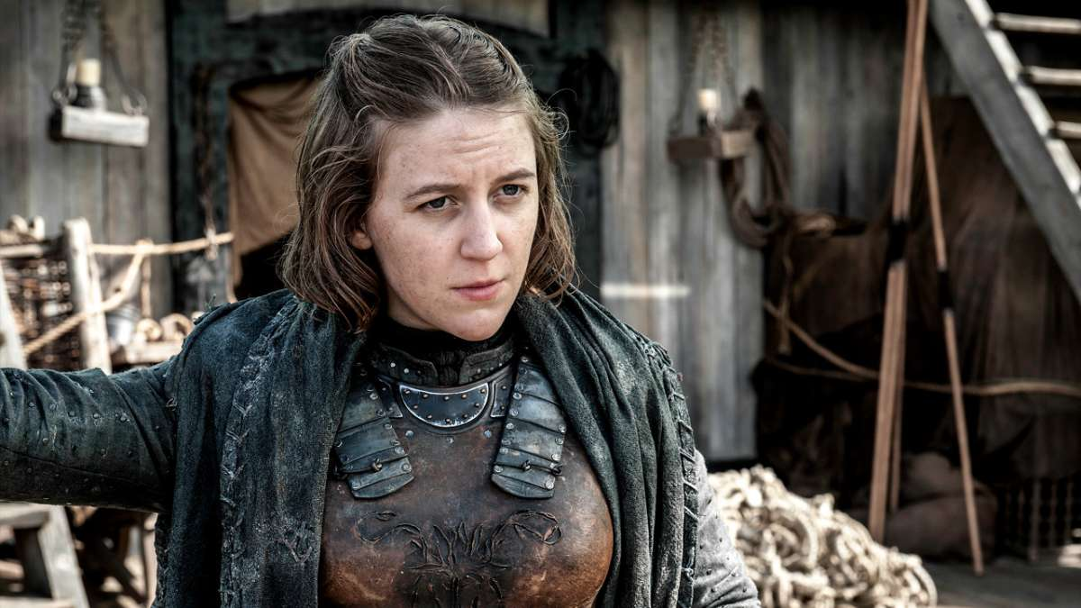 Game of Thrones character Yara Greyjoy.