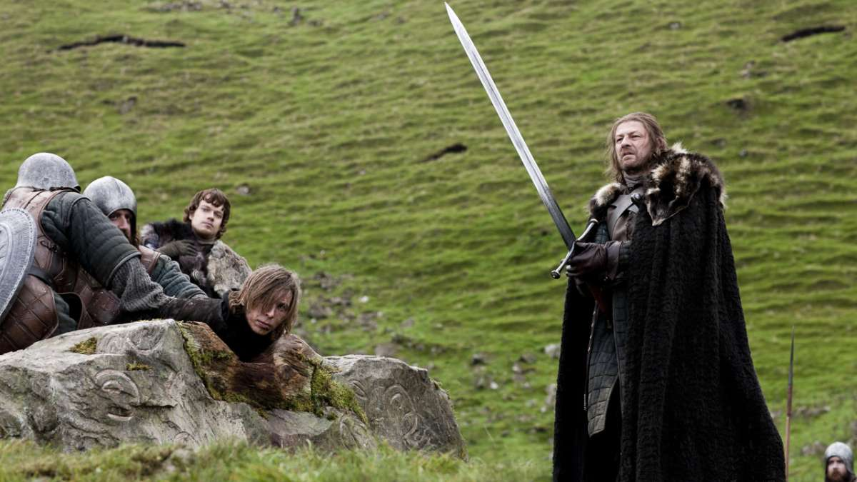 Ep01 Eddard Stark kills Will