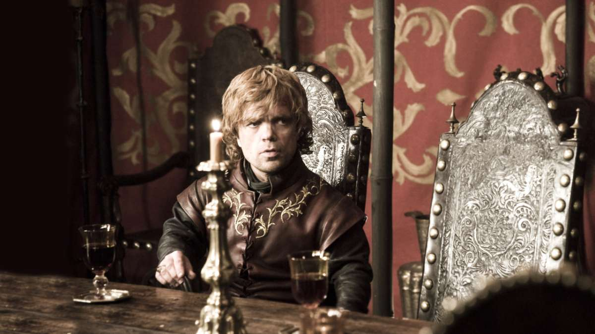 Tyrion at table