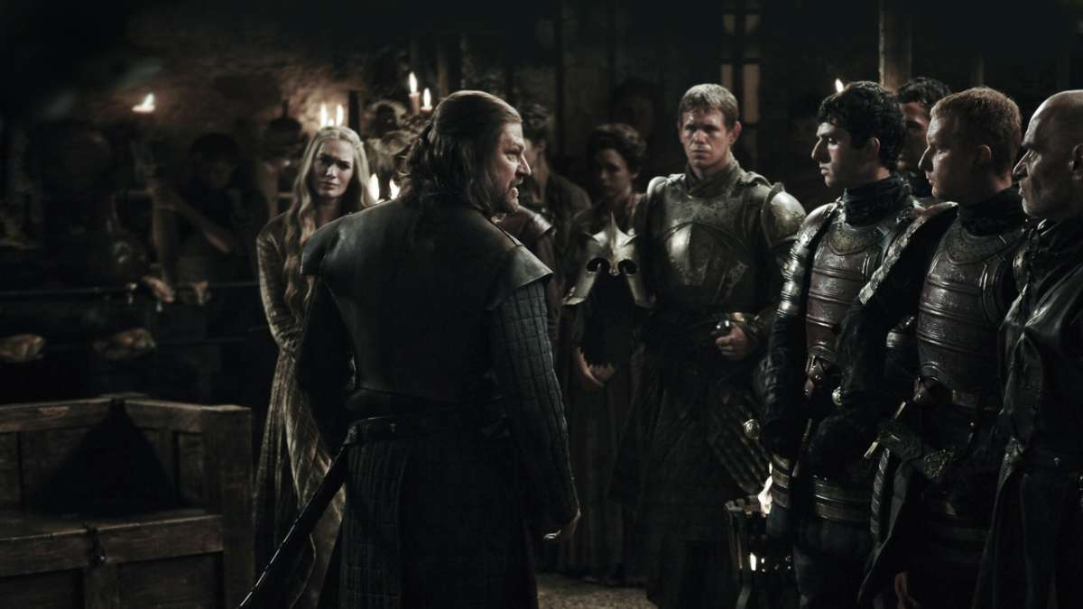 Ep02: The Kingsroad Eddard Stark and knights