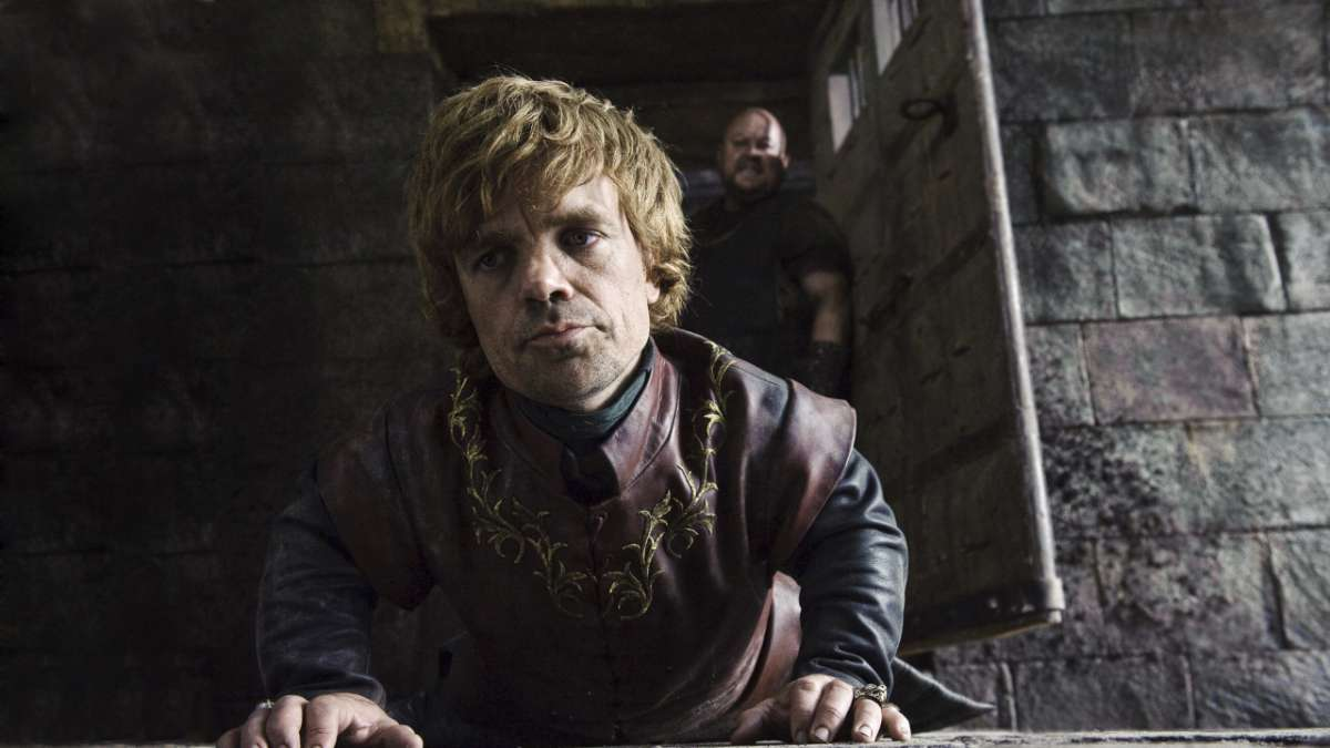 Tyrion locked up in tower