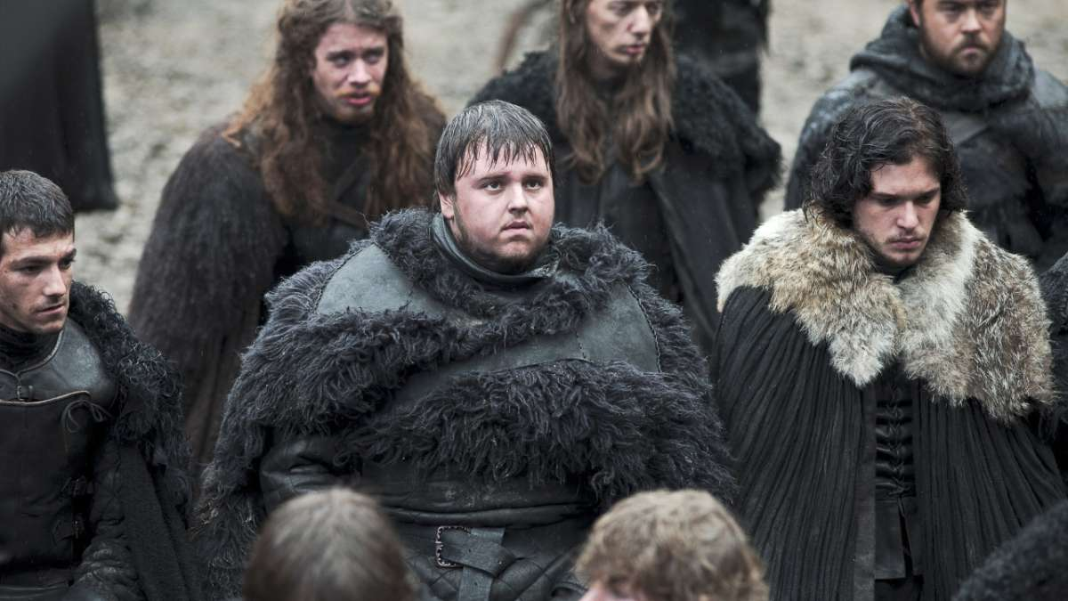 Jon Snow and Samwell