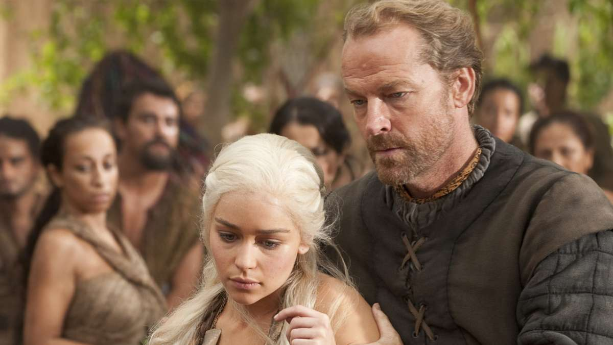 Daenerys and Ser Jorah market