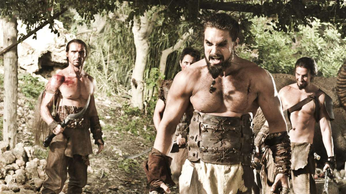 Khal Drogo very mad
