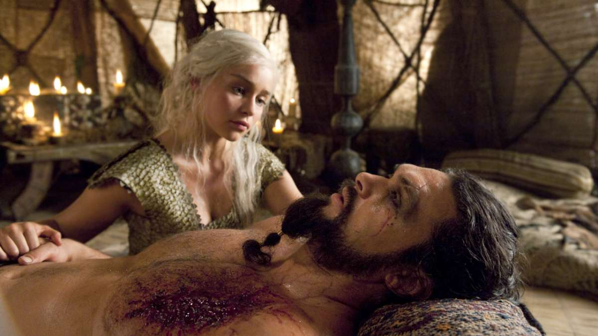 Daenerys and ill Khal Drogo