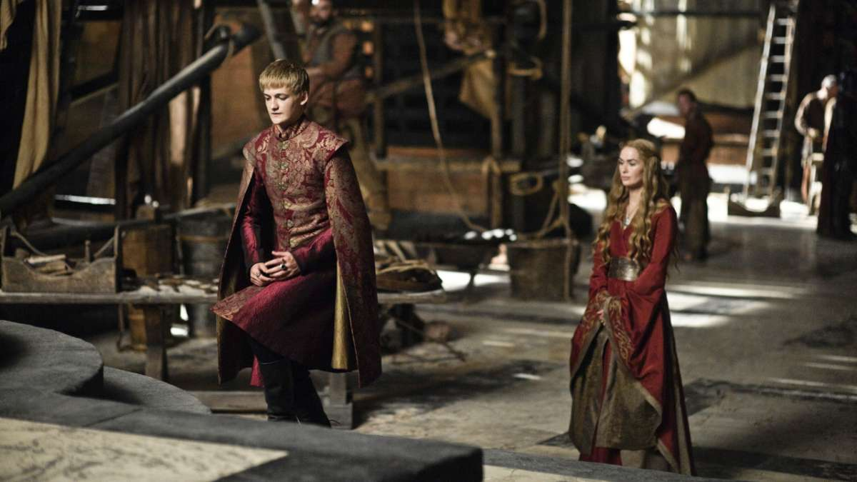 Joffrey and Cersei