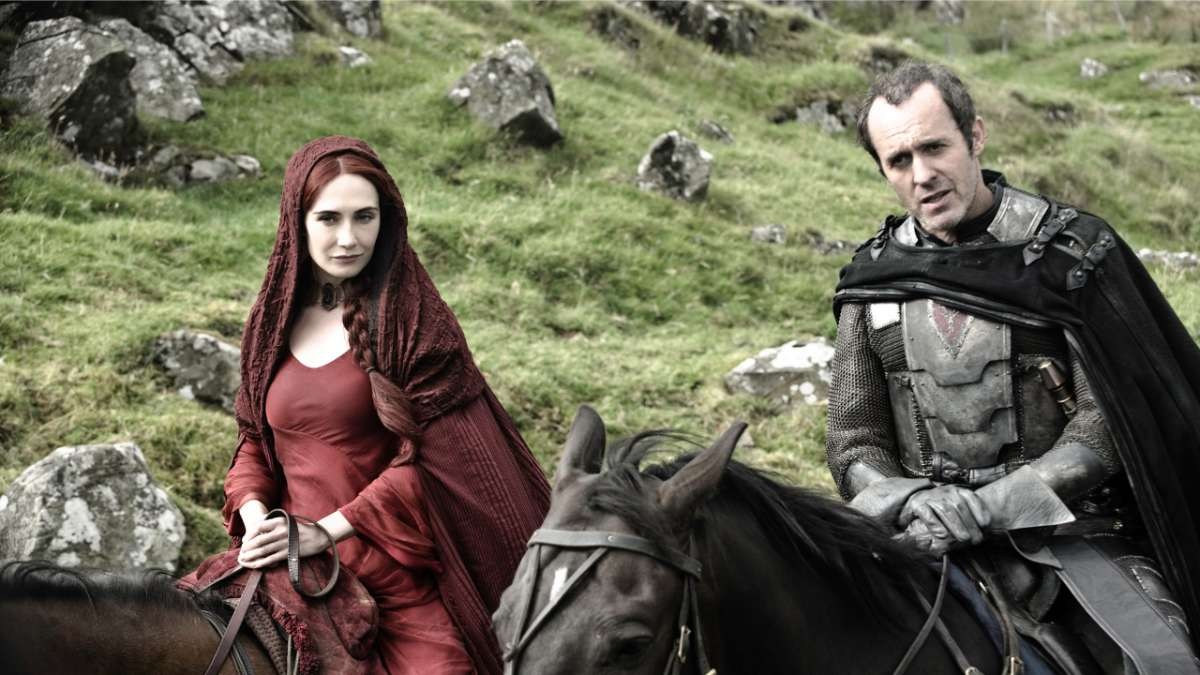 Stannis and red priestest