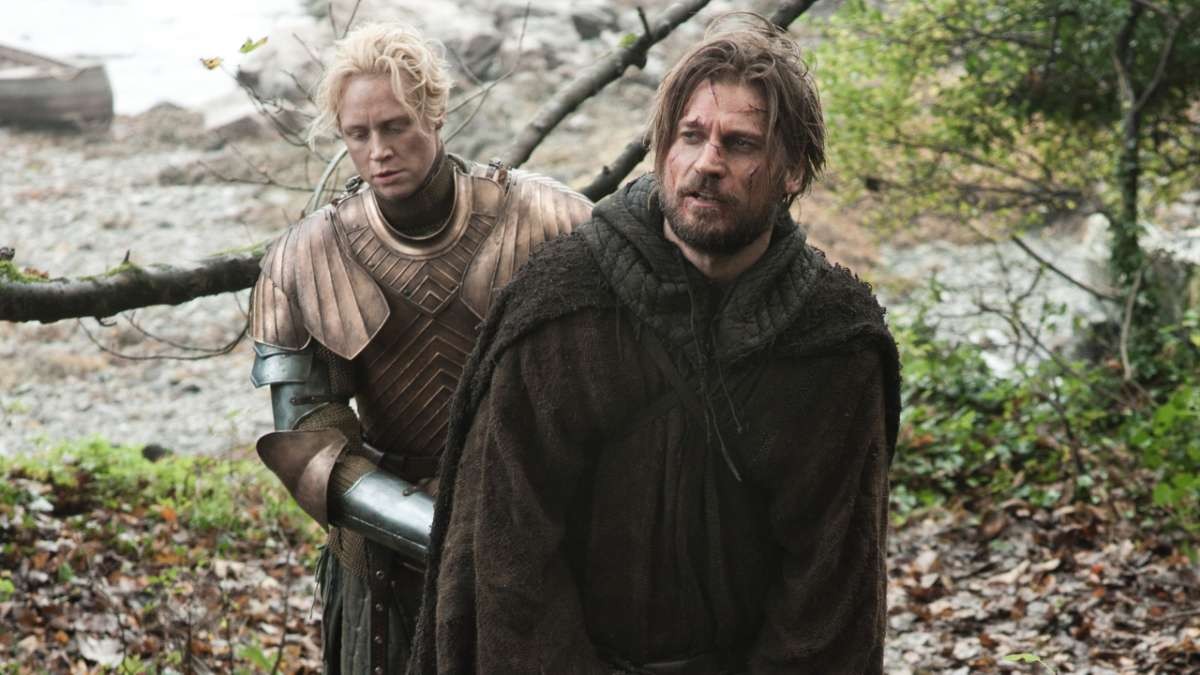 Brienne with Jaime prisoner