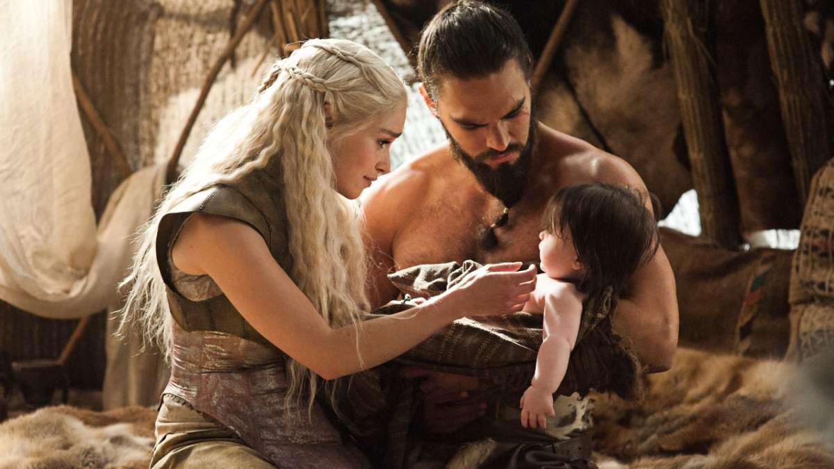 Dany Khal Drogo and baby