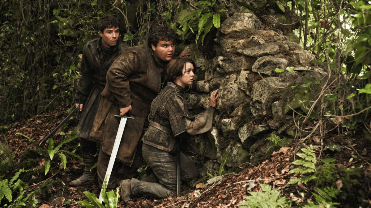Arya Hot Pie Gendry