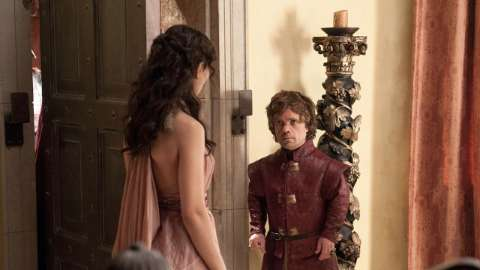 Shae and Tyrion