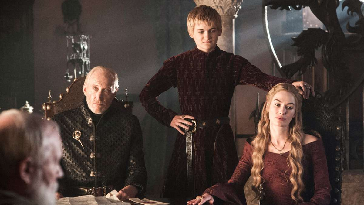 Tywin Joffrey and Cersei