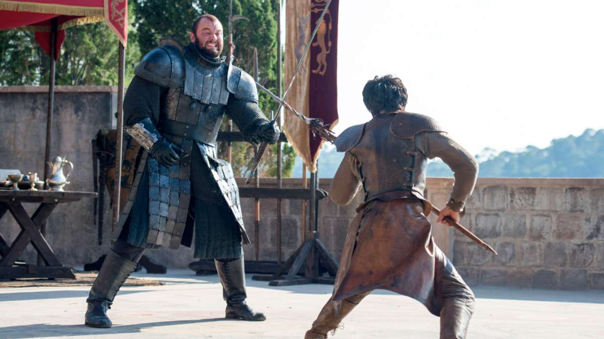"""The Mountain, Oberyn"""