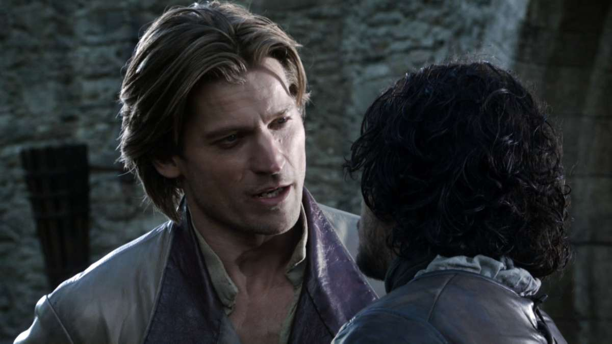 2 clip: Jaime and Jon at Winterfell