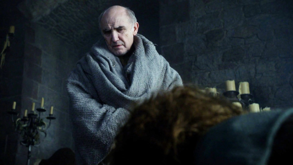 Game of Thrones S1 Ep 7: Maester Luwin Speaks With Osha - Clip