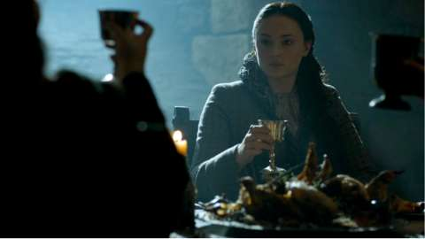 Game of Thrones S5 Ep 6: Sansa's Return to Winterfell - Clip