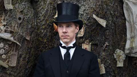 Christopher in top hat