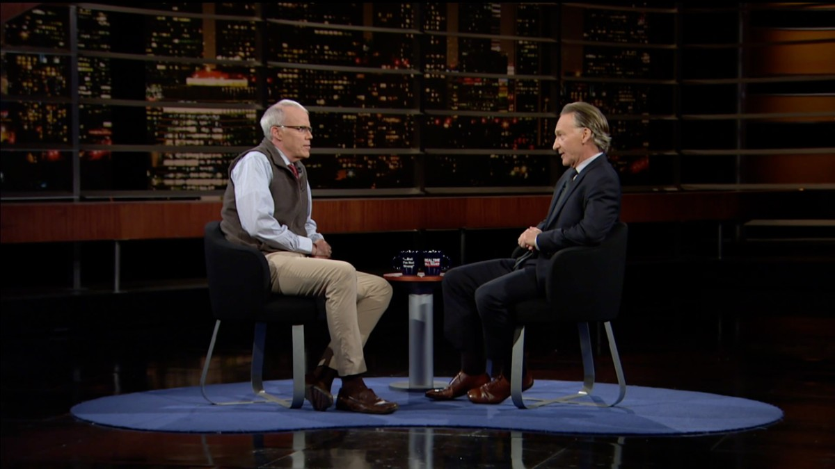 Real Time with Bill Maher S15 Ep 35: Bill McKibben - The Hope Is in the  Resistance