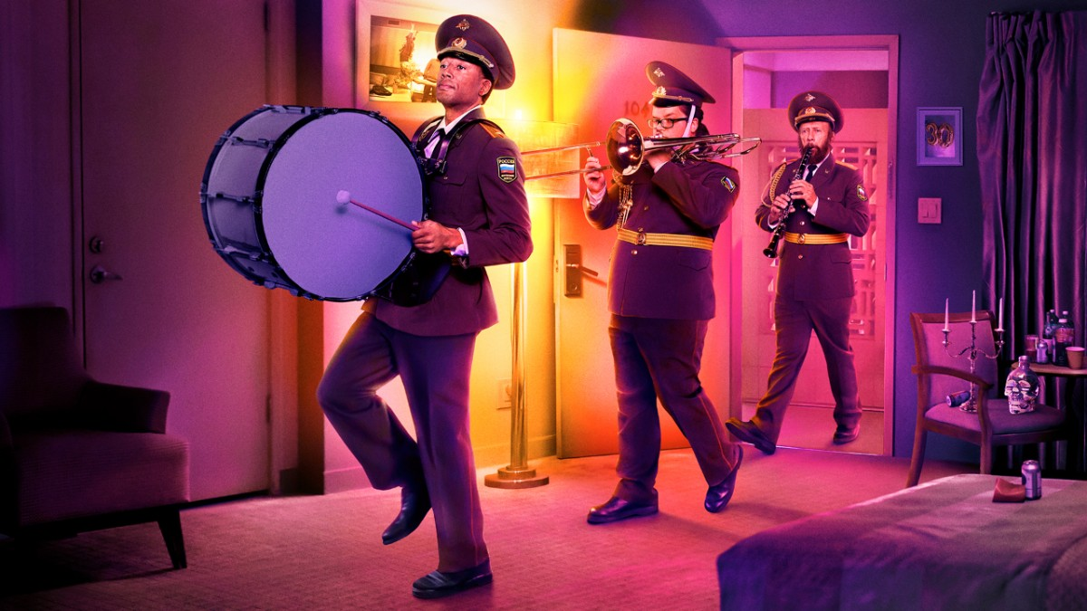 Room 104 HBO HBO series season 2 key art poster marching band